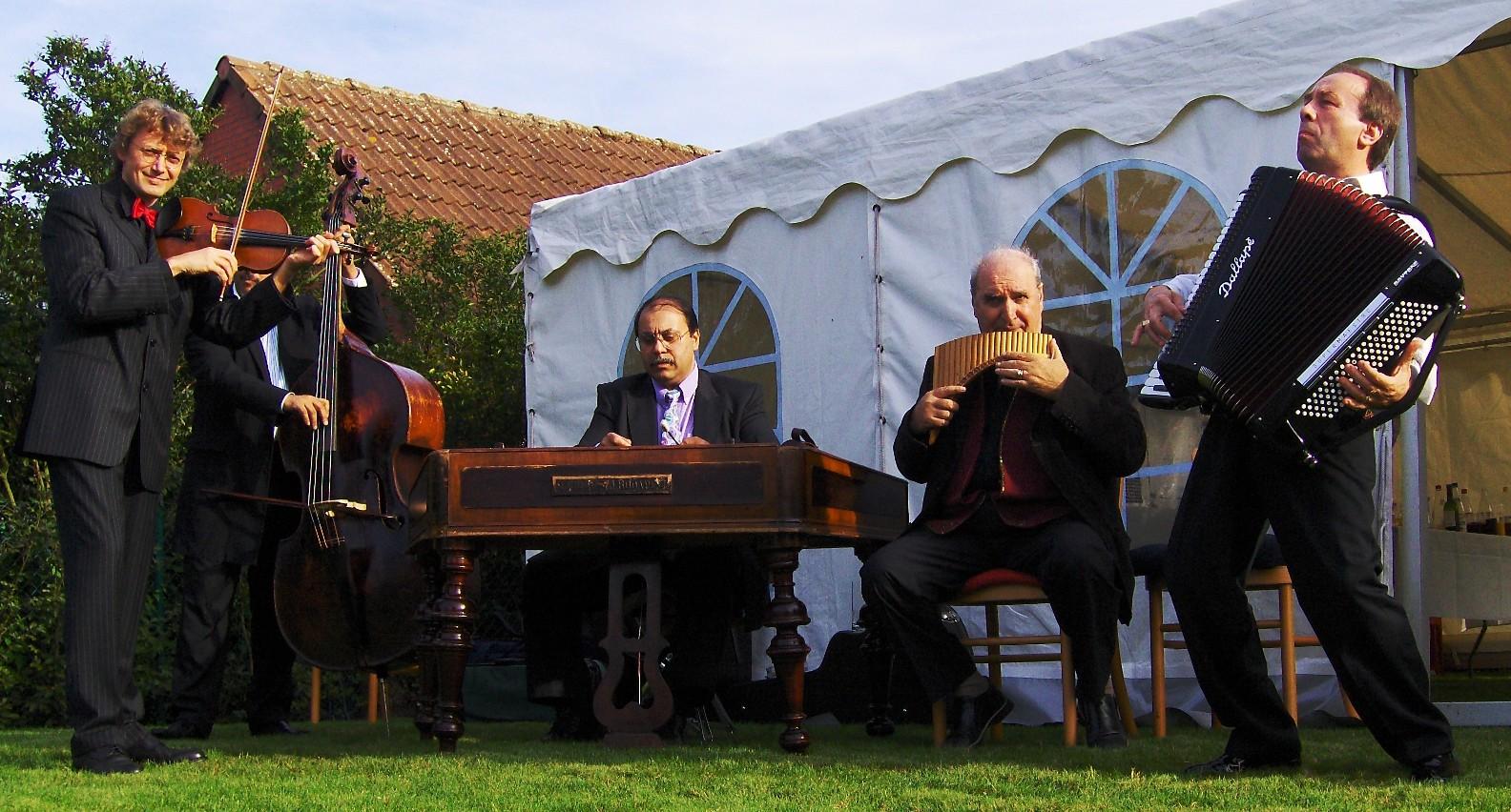 Piroska gypsy music with Janos Kekenj, Iulian Jantea,