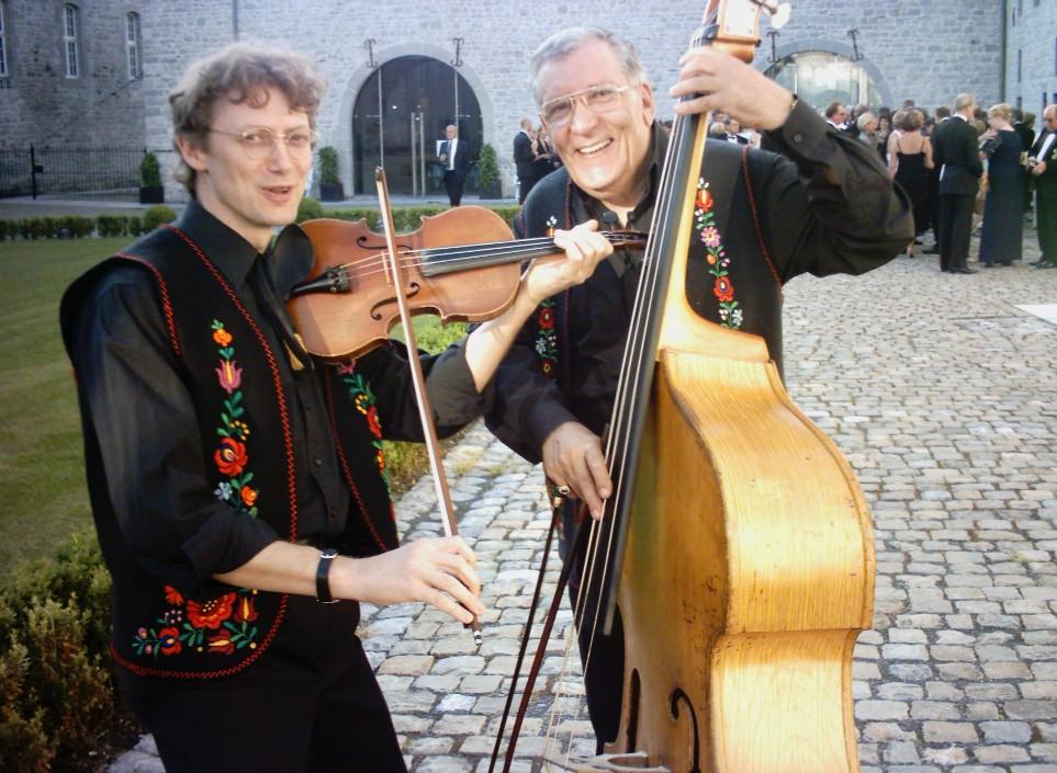 trio tzigane Piroska lors d'une fête